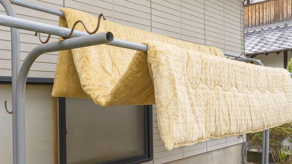 こたつ布団を洗おう(洗濯機編)