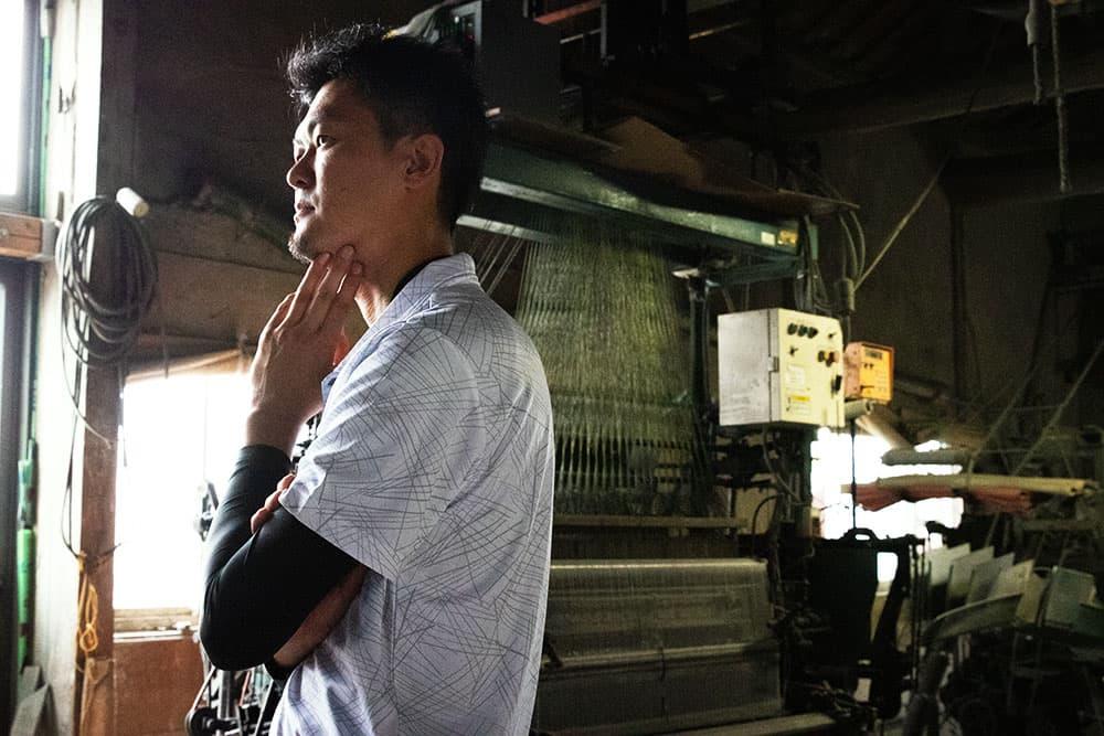 繋がるものづくり-い草ラグ生産者 椛島裕喜さんが語る、い草ラグの継承-